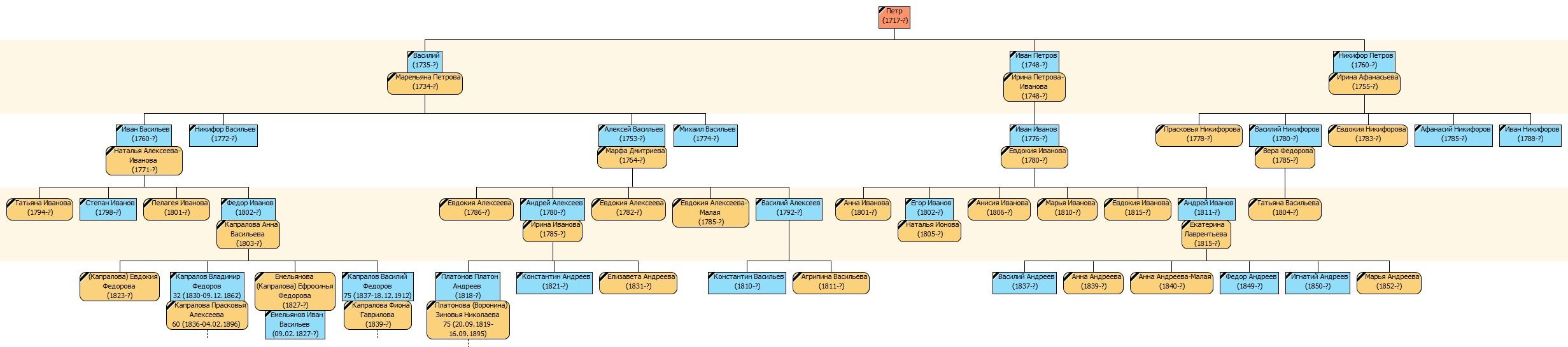 Капраловы ИР 1795